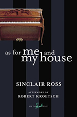 As For Me and My House, by Sinclair Ross