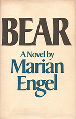 Cover of Bear, by Marian Engel