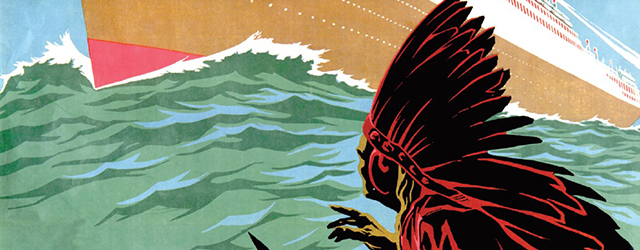 Detail from the cover of The Inconvenient Indian