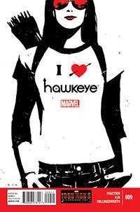 Cover of Hawkeye #9