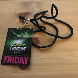 Comicon day pass