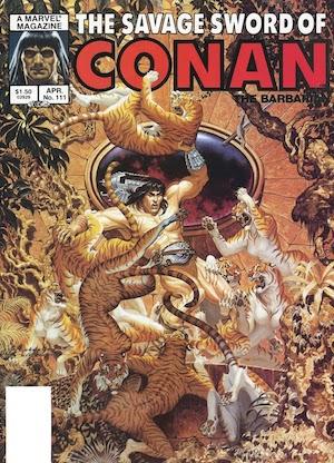 Savage Sword of Conan #111