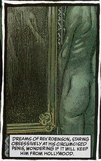 A panel from Sandman Midnight Theatre