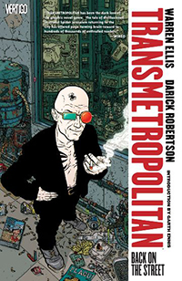 Transmetropolitan cover