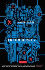 Cover of Infomocracy by Malka Older